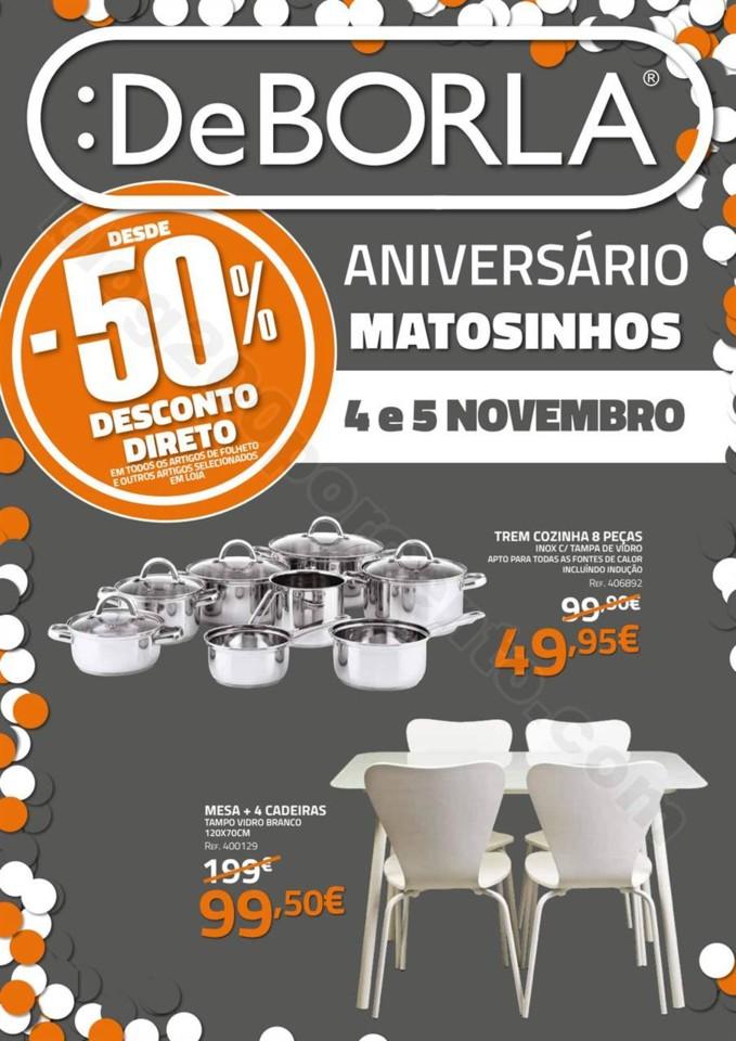 Antevisão Folheto DEBORLA Aniversário Matosinhos