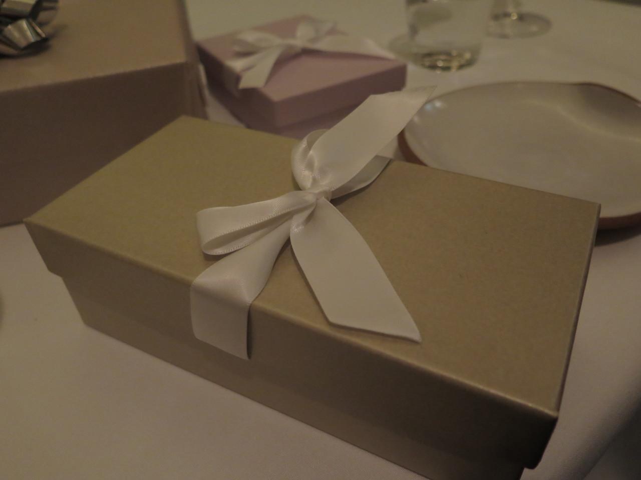 A primeira caixa