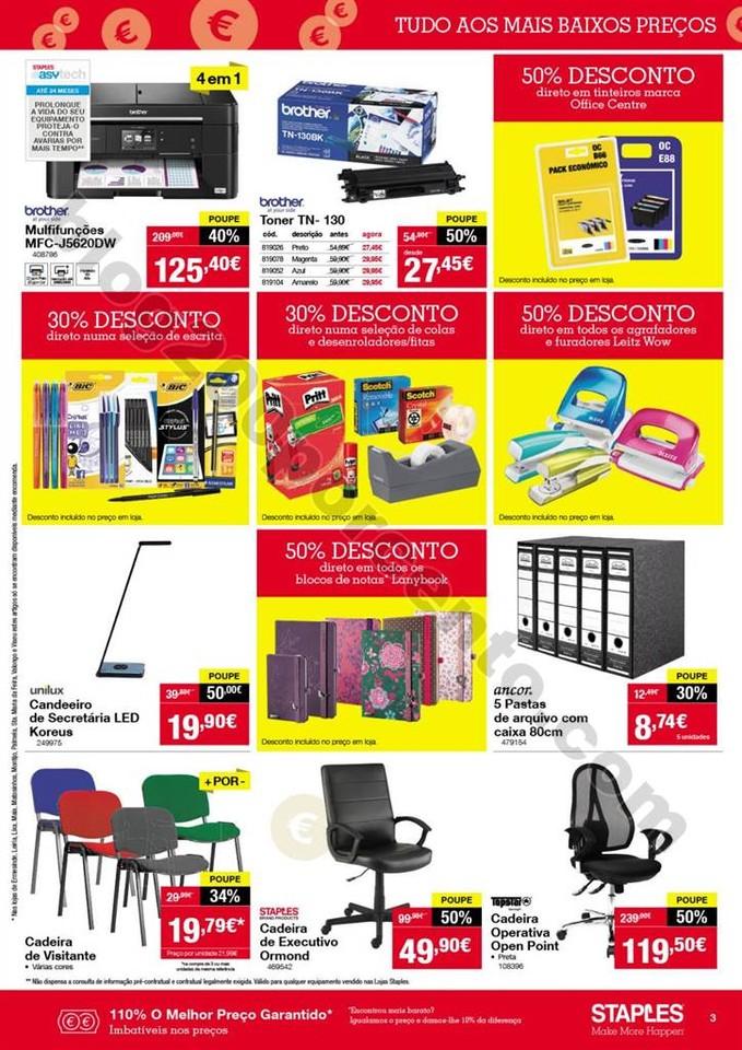 Antevisão Folheto STAPLES promoções de 12 a 18