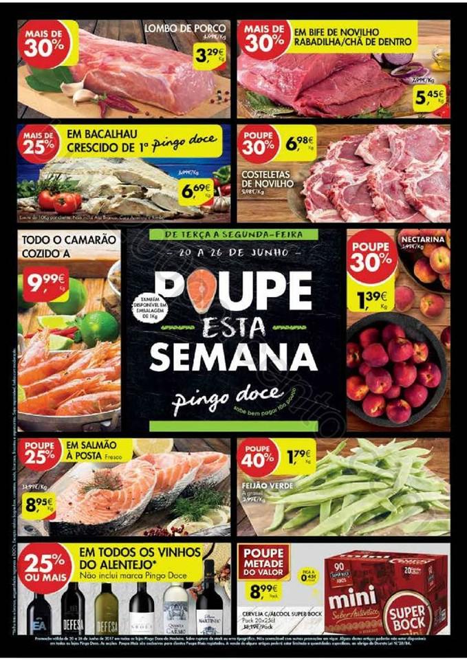 Antevisão Folheto PINGO DOCE Madeira de 20 a 26 j