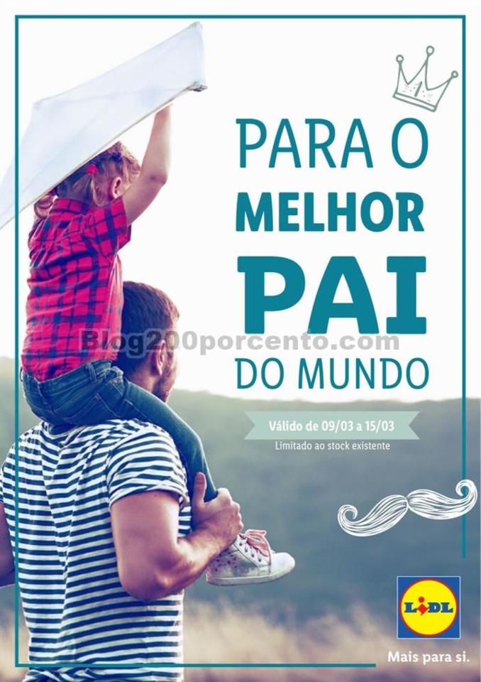 Antevisão Folheto LIDL Dia do Pai Promoções de