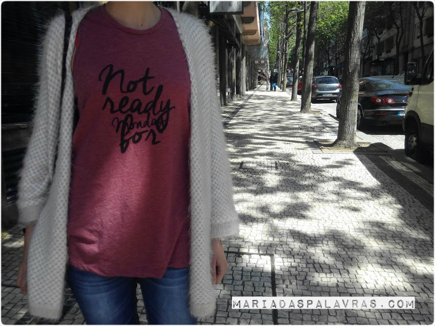 Not ready for monday - Maria das Palavras