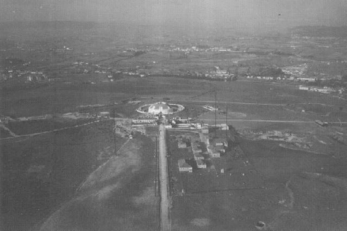 Vista aérea do Forte de Monsanto, 1930 1932 foto