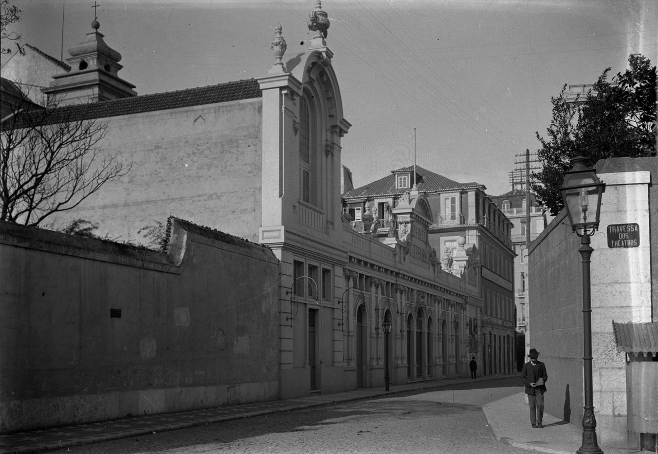Cinema Chiado Terrasse, 1911, foto de Joshua Benol