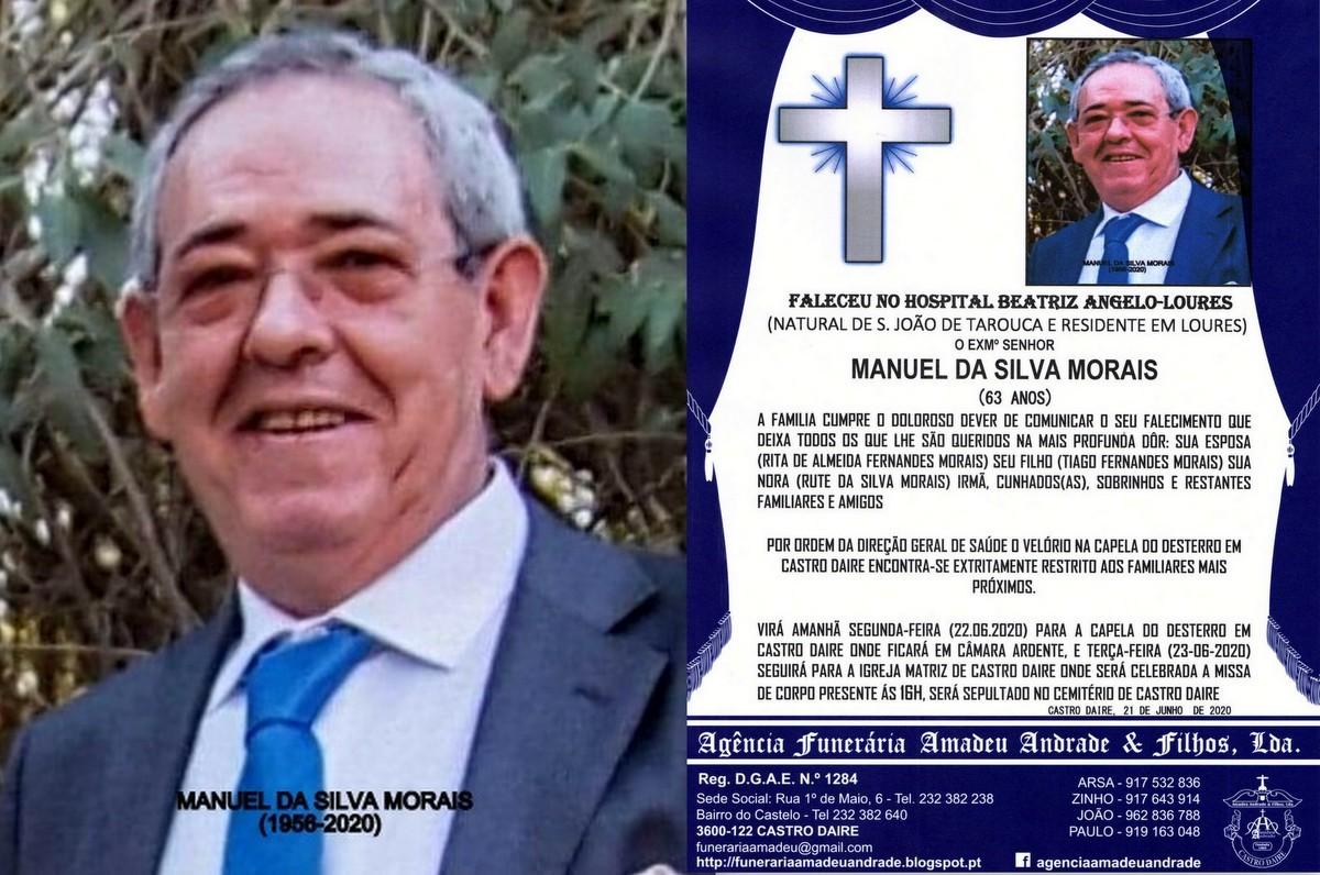 FOTO RIP DE MANUEL DA SILVA MORAIS-63 ANOS (CASTRO