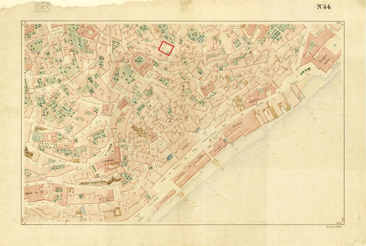 Atlas da carta topográfica de Lisboa, n.º 44, 18