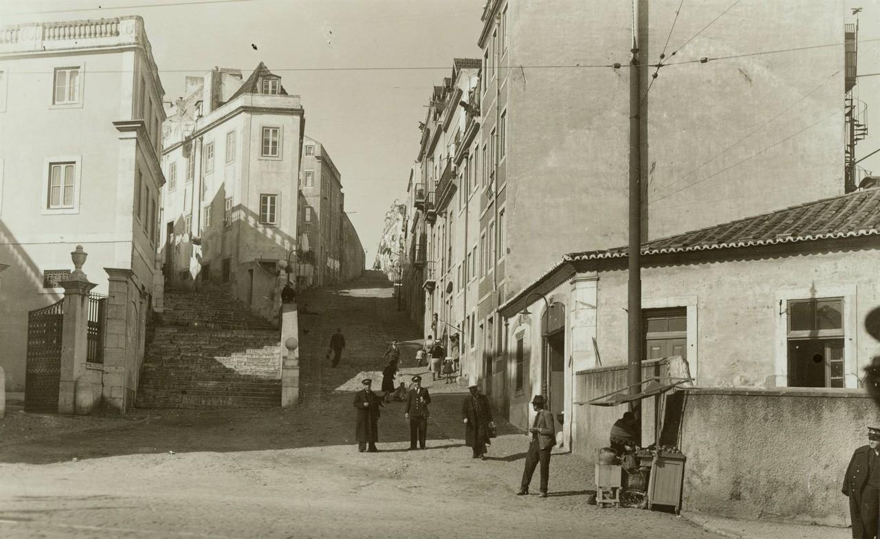 Calçada de Santo Amaro, sd, foto de Eduardo Portu