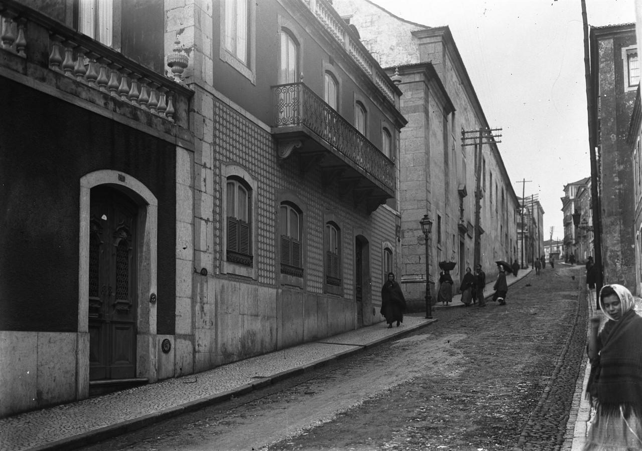 Convento dos Cardais, início séc. XX, foto de Jo