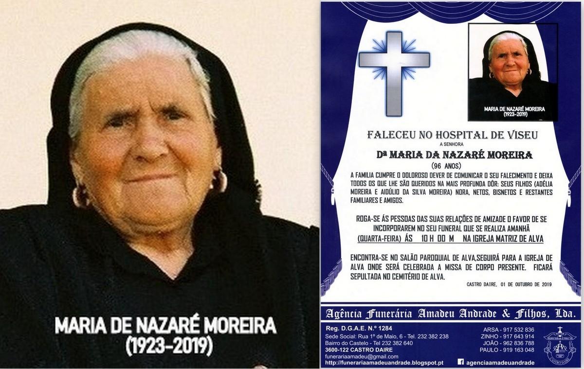 RIP FOTO DE MARIA DA NAZARÉ MOREIRA-96 ANOS(ALVA)