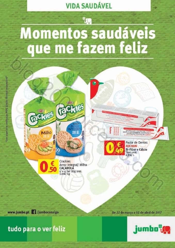 Antevisão Folheto JUMBO Alimentação Saudável d
