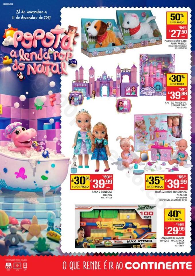 Antevisão Folheto CONTINENTE extra brinquedos Nat