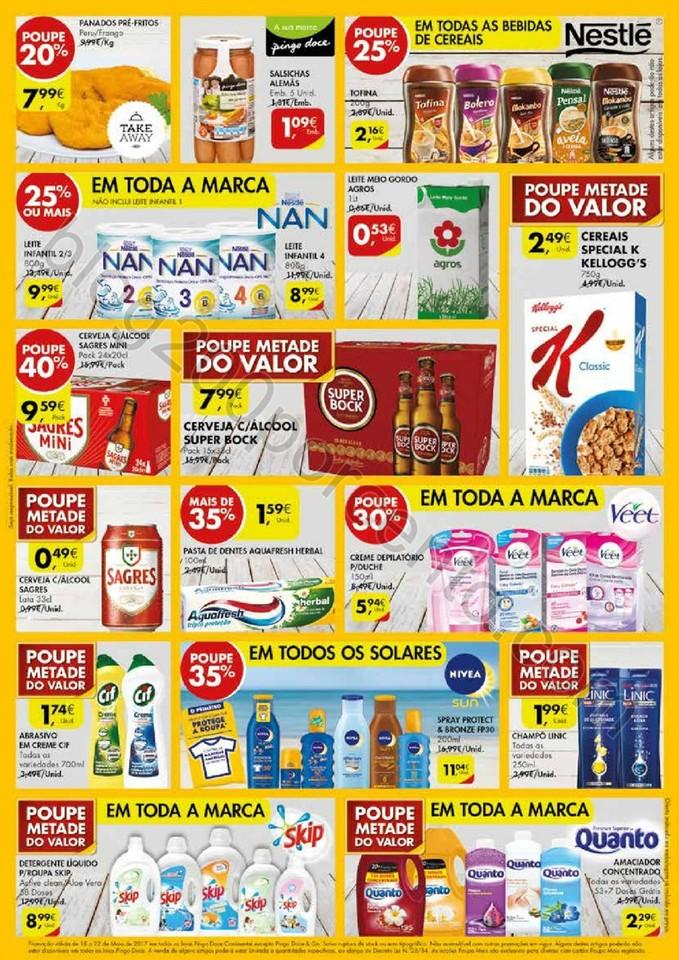 Antevisão Folheto PINGO DOCE Fim de semana de 18