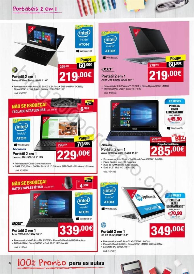 Novo Folheto STAPLES promoções de 8 a 27 setembr