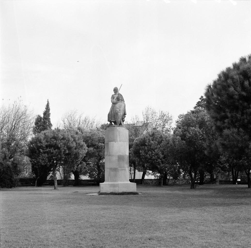 Estátua de Dom Afonso Henriques, post. a 1947 fot