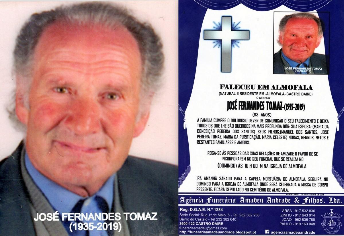 FOTO RIP  DE JOSÉ FERNANDES TOMAZ-83 ANOS (ALMOFA