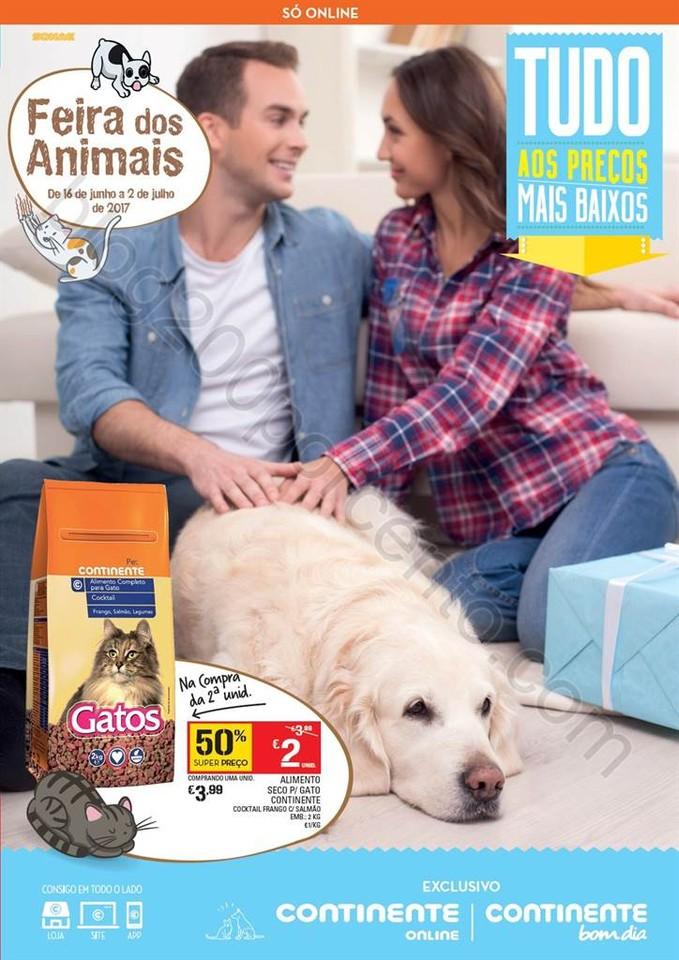 Novo Folheto CONTINENTE Extra Pet Care promoções