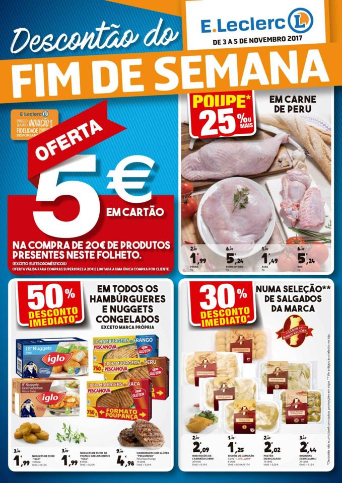 Eleclerc-Promoções-Folheto-Fim de Semana-3 a 5 d