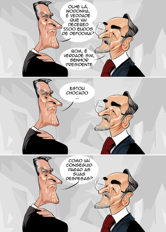 Cartoons - As reformas de Cavaco Silva e Noronha do Nascimento