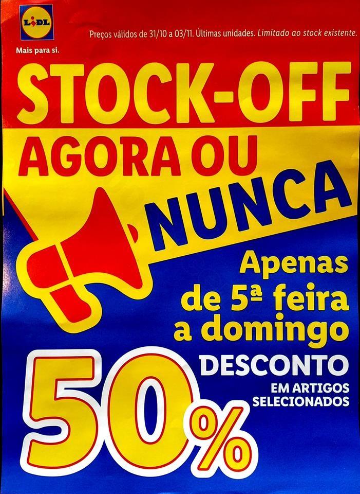 antevisão folheto stock off promoções de 31 out
