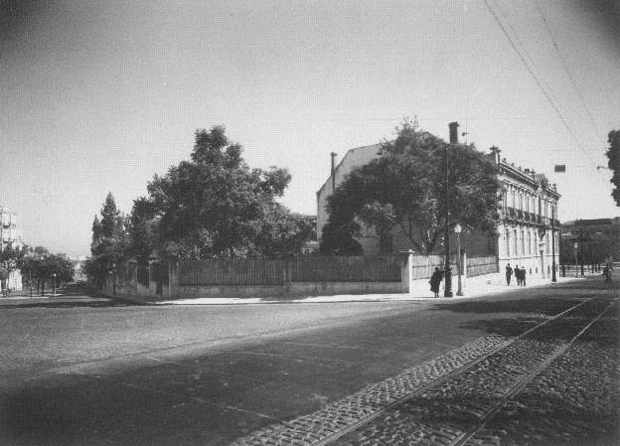 Palácio e parque Sabrosa, 1938, foto de Kurt Pint