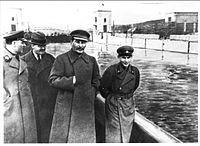 Voroshilov%2c_Molotov%2c_Stalin%2c_with_Nikolai_Ye