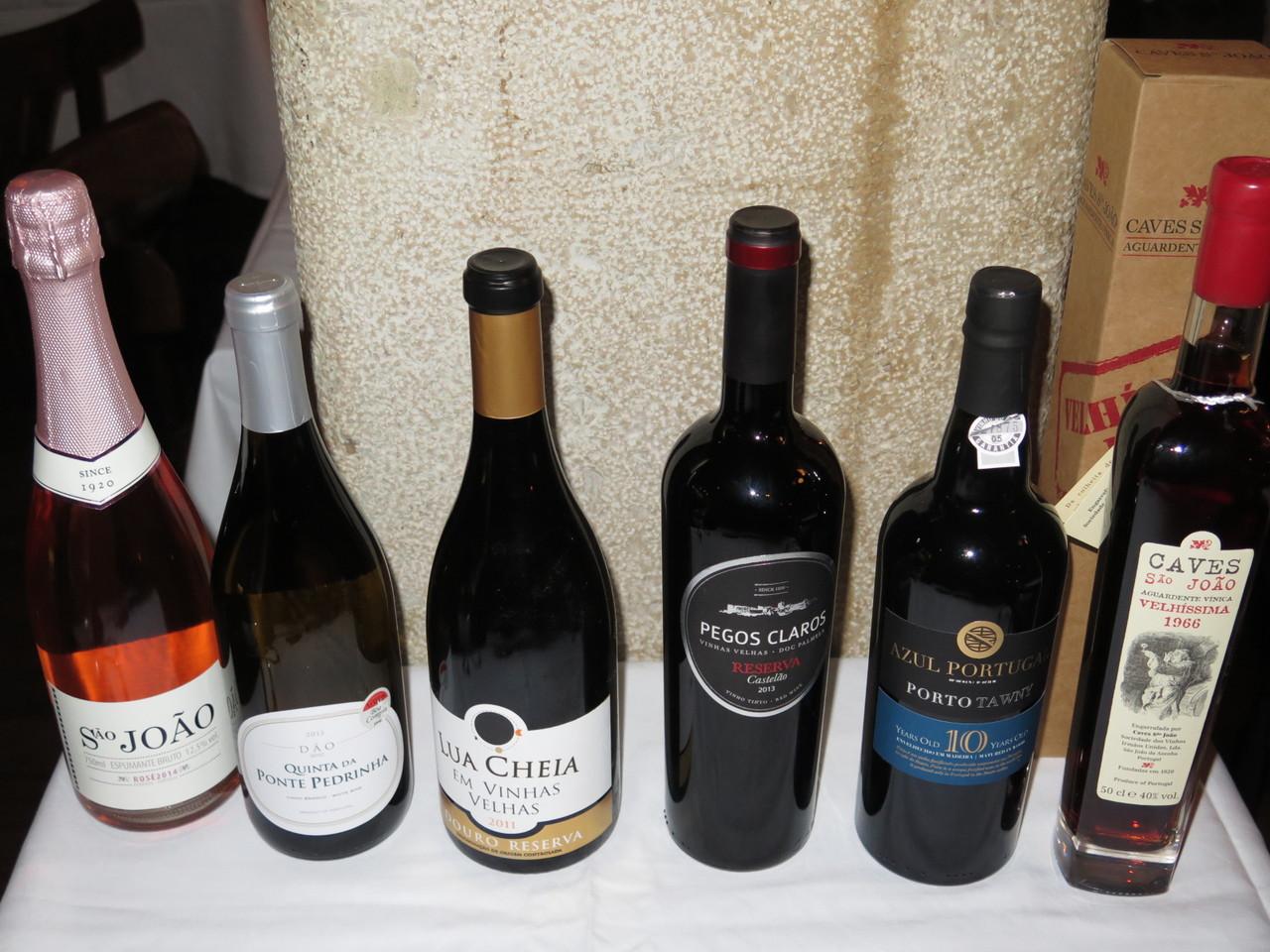 Os vinhos do jantar