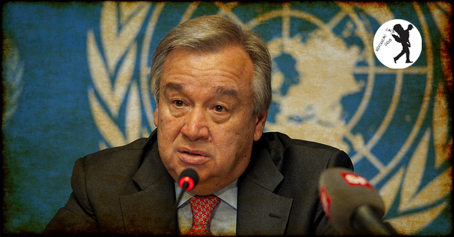 Secretário-geral das Nações Unidas...