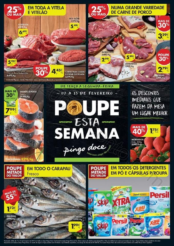 Antevisão Folheto PINGO DOCE Promoções de 7 a 1