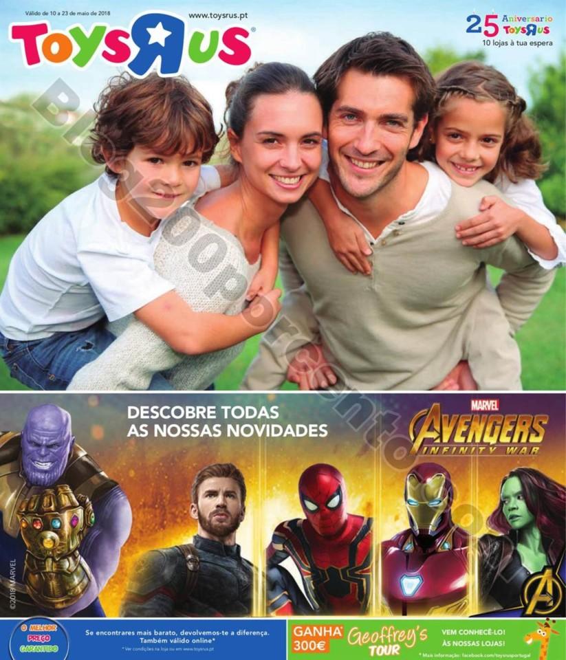 Antevisão Folheto TOYSRUS Promoções de 10 a 23