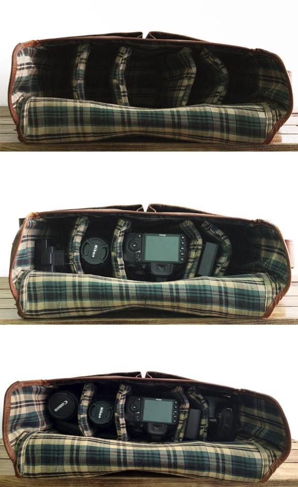 bolsa para maquina fotografica canon eos reflex DS