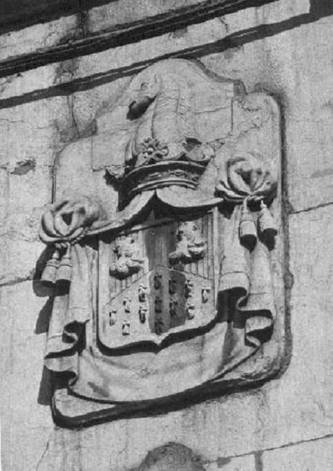 Brasão do palácio dos barões da Regaleira, 1959
