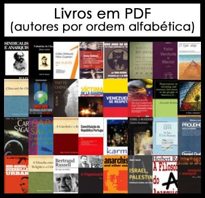 Livros em PDF - LISTA DE AUTORES POR ORDEM ALFABÉTICA