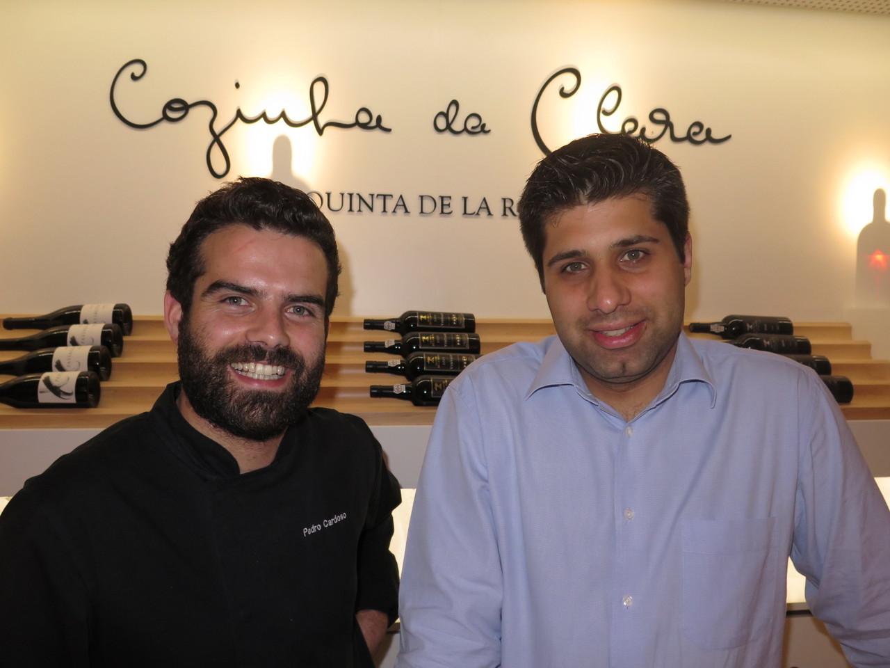 Pedro Cardoso e Pedro Esteves