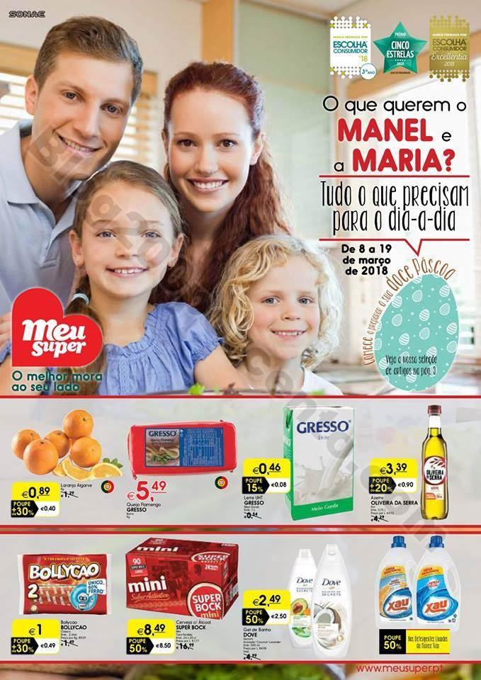 Antevisão Folheto MEU SUPER Promoções de 8 a 19