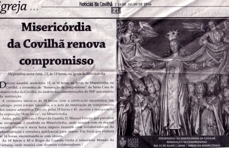 Covilhã - A Misericórdia uma Instituição de Solidariedade Social XXVI