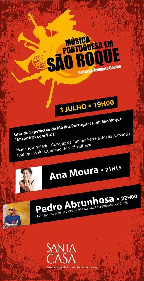 Música Portuguesa em São Roque nos 150 anos da SCML