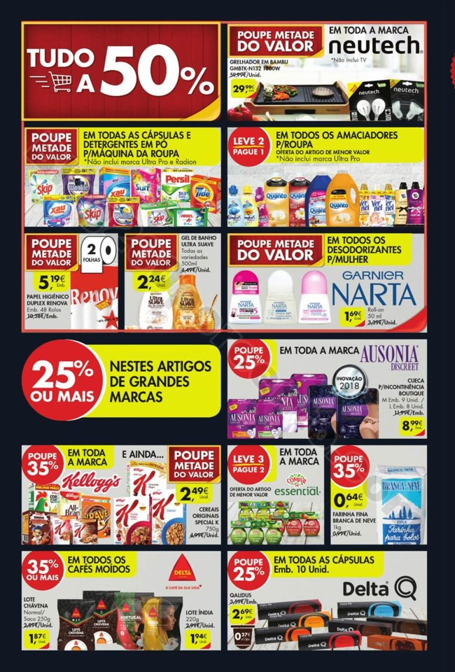 Antevisão Folheto PINGO DOCE Fim de semana - 5 a
