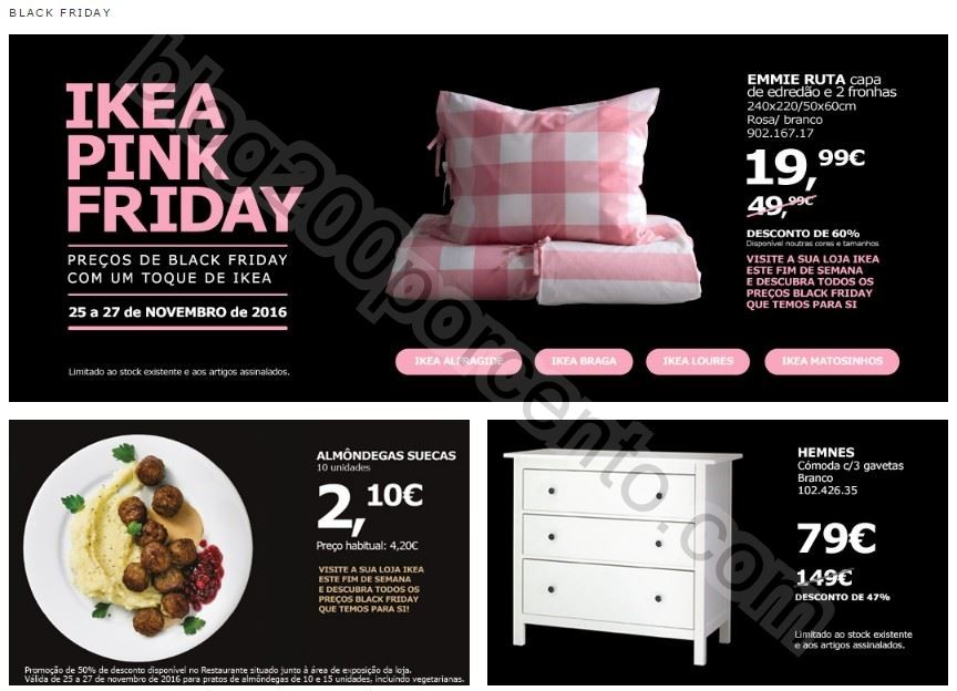 antevis o promo es ikea black friday promo es de 25 a 27 novembro blog 200 ltimos. Black Bedroom Furniture Sets. Home Design Ideas