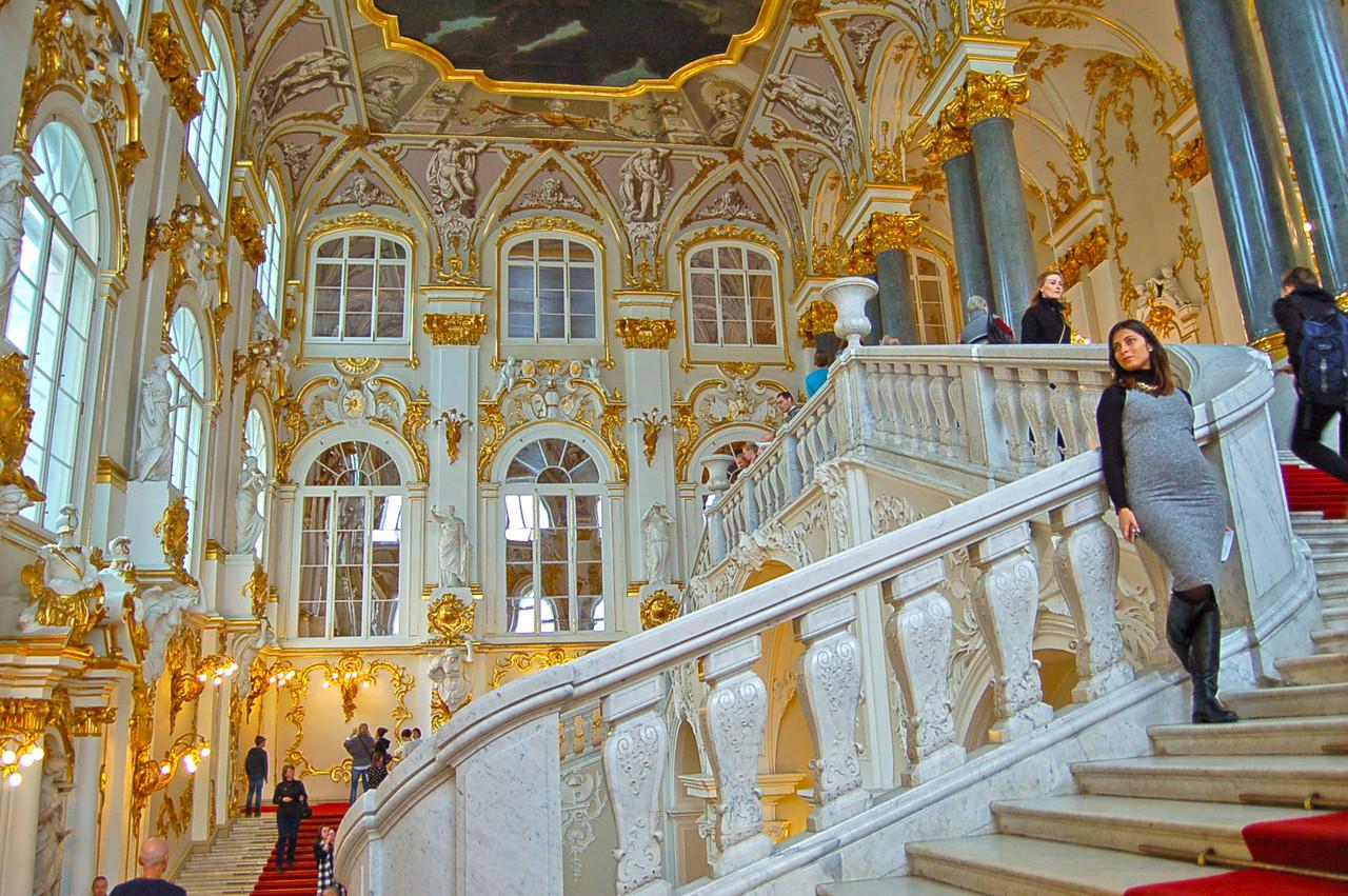 Museu Hermitage, em São Petersburgo