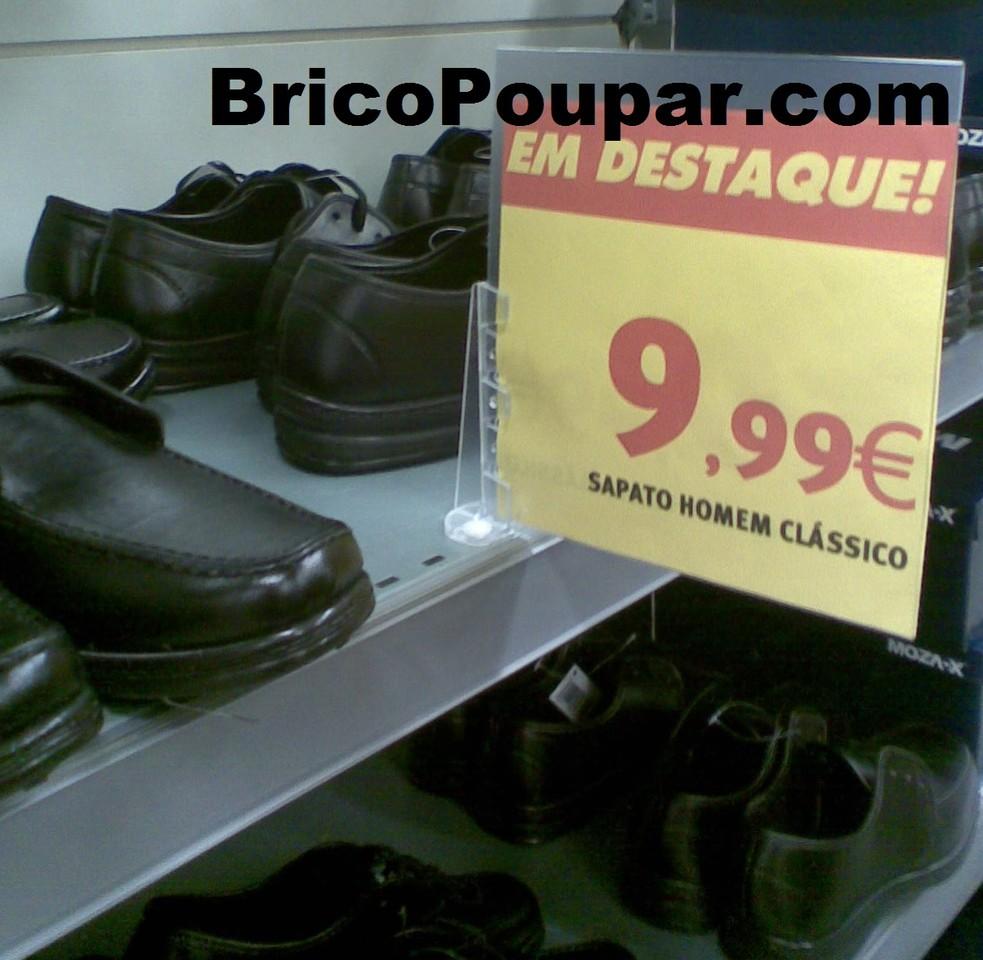 Calçado no Jumbo Homem desde 1,99€ BricoPoupar