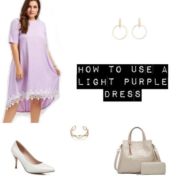 How to use a summer light purple dress - Moda & Style
