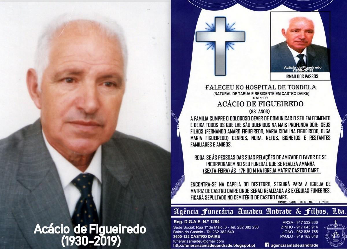 FOTO RIP  DE ACÁCIO DE FIGUEIREDO-88 ANOS(CASTRO