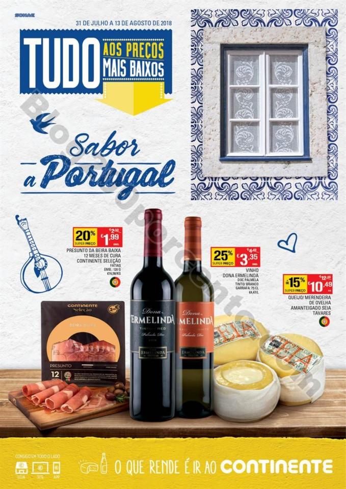 Antevisão Folheto CONTINENTE Extra Portugal promo