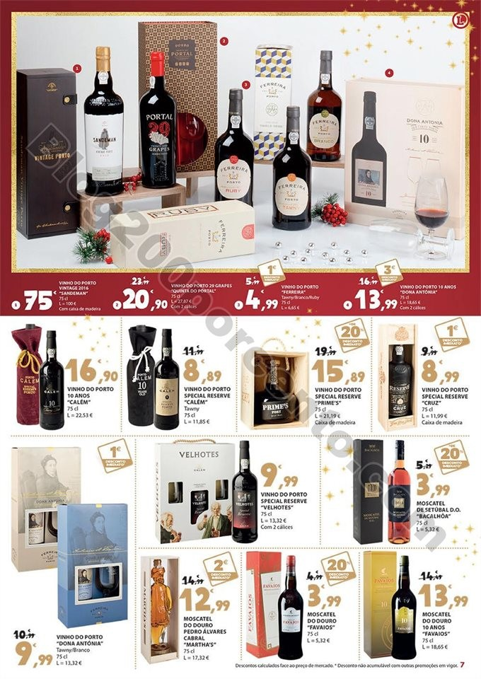 Antevisão Folheto E-LECLERC Presentes Natal promo