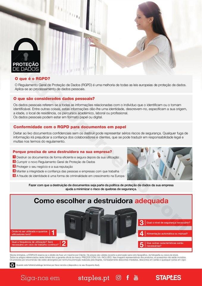 Antevisão Folheto STAPLES Extra Promoções de 4