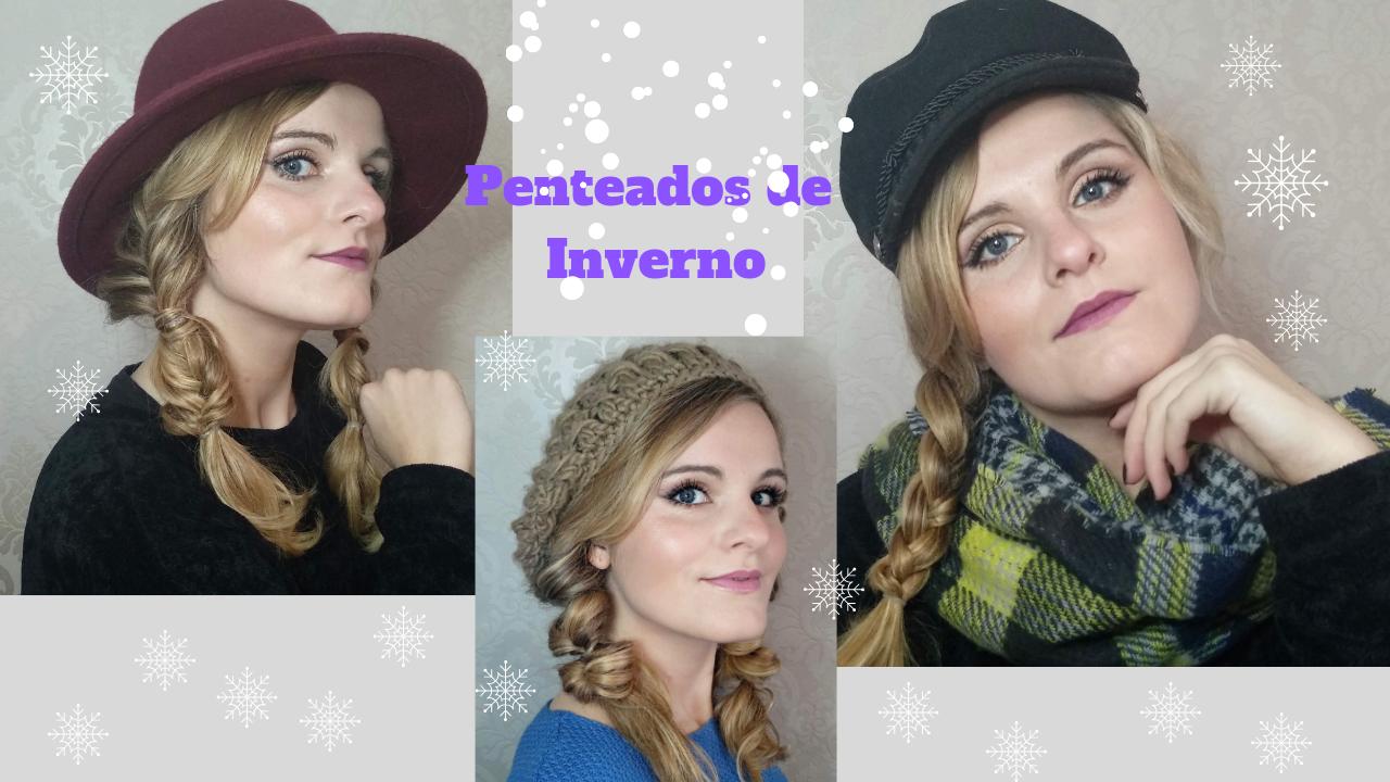Penteados de Inverno para usar com chapéus 506e6ecf6cd