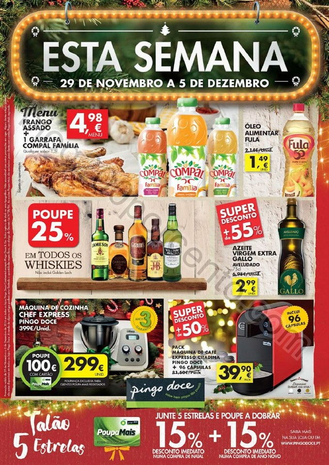 Antevisão Folheto PINGO DOCE Super de 29 novembro