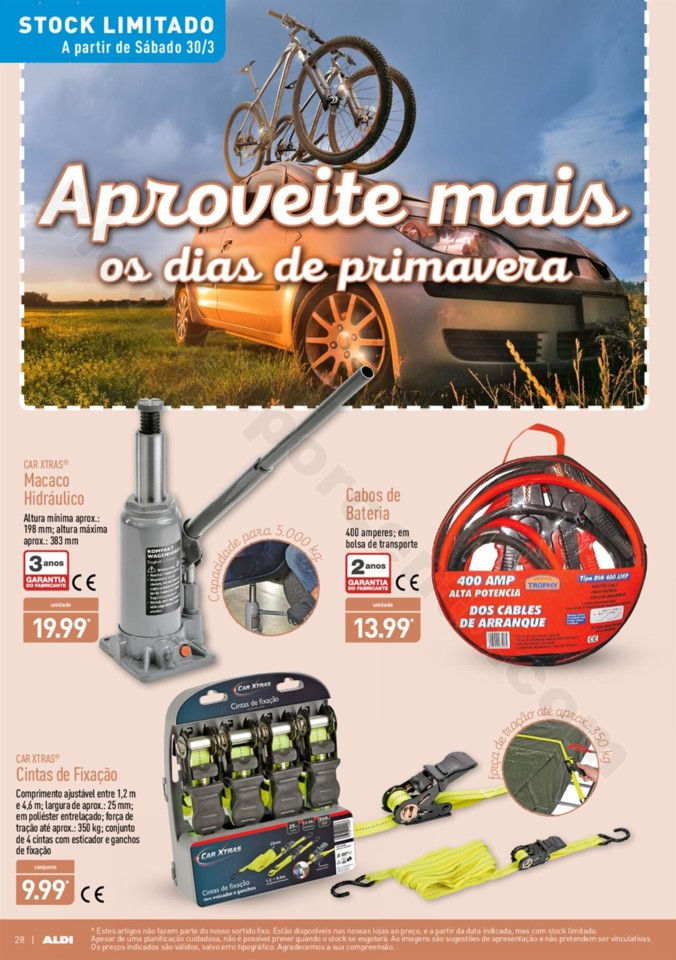 Antevisao Folheto ALDI Promoções a partir de 27