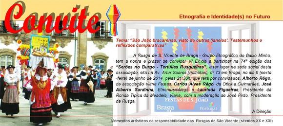 Convite-74ª ed. Serões-Tertúlias