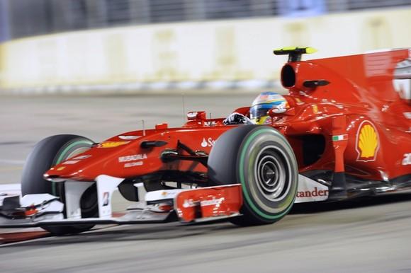 GP de Singapura de F1, Marina Bay em 2010 - desporto.sapo.pt